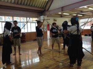 """""""NAGINATA"""" Team, Saitama Sakae High School"""
